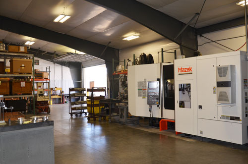 Machine shop mazak cnc